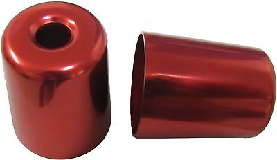 Bar End Weight Covers Red ZX7R