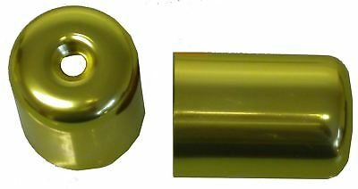 Bar End Weight Covers Gold GSXR1100, WP,WR