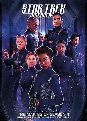 Star Trek Discovery: the Official Companion by Titan Books Hardcover Book Free S