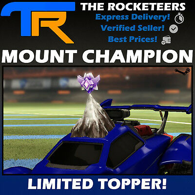 [PC STEAM] Rocket League MOUNT CHAMPION Limited Topper RLCS REWARD 1