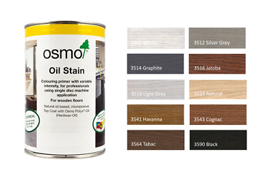 Osmo Oil Stain 1L & 2.5L Professional Wood and Flooring Finishes All Colours