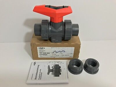 "New! Gf / George Fischer Signet Ball Valve 161546353 3/4"" Dn20"