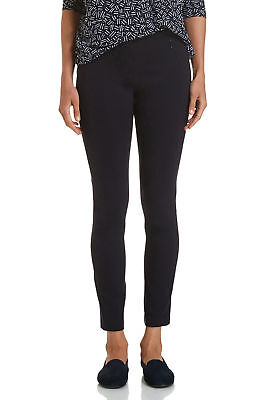 NEW Sportscraft Womens Esme Ponte Fitted Pants w/ Elastic Waistband Clothing