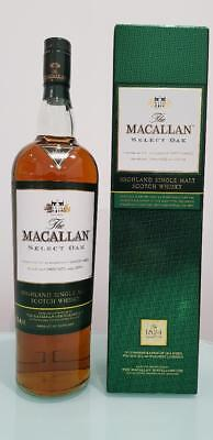 The Macallan Green Select Oak Single Malt Scotch Whisky 1000 ml @ 40 % abv