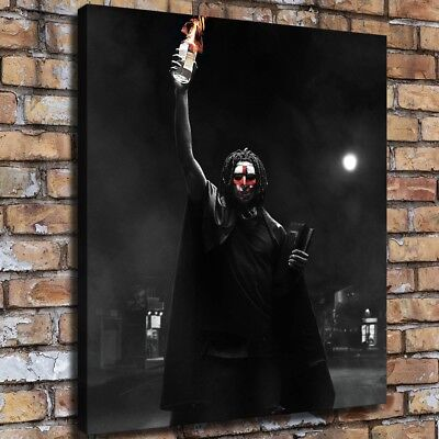Movies the First Purge HD Canvas prints Painting Home Decor Picture Wall art