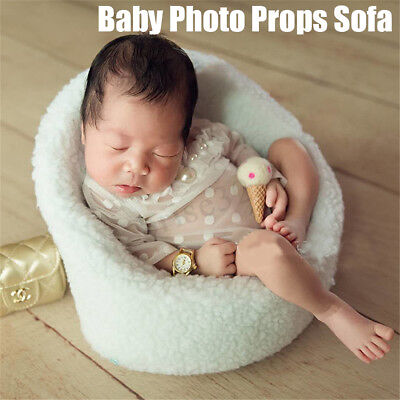 Newborn Baby Photo Prop Modeling Sofa Seat Studio Photography Shoot Aid