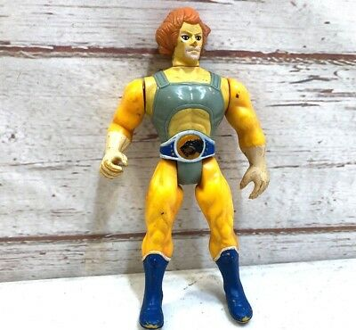 Lion-O Thundercats Vintage 1985 LJN Action Figure Good Used Action Works