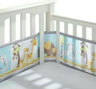 Breathable Baby Mesh Cot Liner Breathable