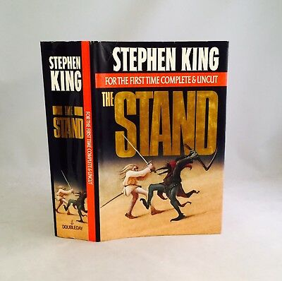 "The Stand-Stephen King-TRUE First/1st ""Complete & Uncut"" Trade Edition!!-RARE!!"