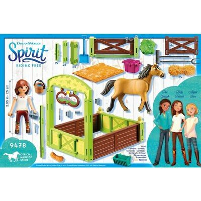 Playmobil DreamWorks Spirit 9478 Lucky Horse Box New And Sealed *