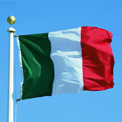 EC71 3ft x 5ft Italy Polyester Flags Italian Flag Flying Flag For World Cup