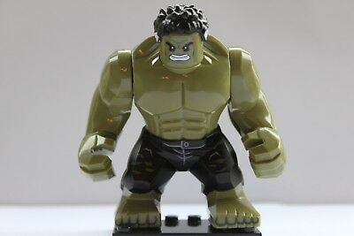 Marvel Super Heroes Incredibe Hulk  Mini Figure Avengers Infinity War Fit lego