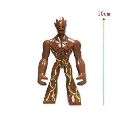 Marvel Super Heroes Groot Guardians Of The Galaxy Mini Figure Avengers Fit lego