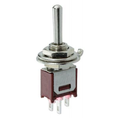 On-Off-On Subminiature Sub Mini Toggle Switch SPDT