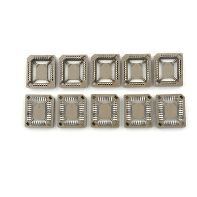 10X New PLCC32 32 Pin 32Pin SMD IC Socket Adapter PLCC Converter YJUK