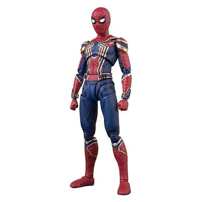 S.H.Figuarts Marvel Avengers Infinity War Iron Spider Man Action Figure Toy Gift