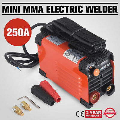 250 Amp Stick MMA ARC DC Inverter Welder 3.2 Rod 220V AC PWM Control WISE CHOICE