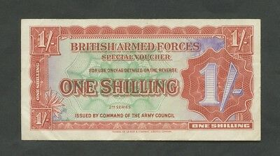 BRITISH ARMED FORCES 1s 1948 2nd series Krause M18a VF Banknotes