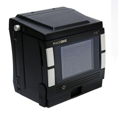 Phase One P40+ 40MP Digital Back Hasselblad V Fitting-Comes With 3 Month TWD War