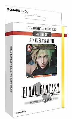 Final Fantasy 7 Starter Set Final Fantasy Sammelkartenspiel - Trading Card Game