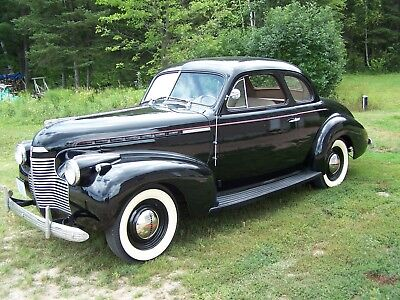 Chevrolet: Master 85 Master 85 1940 Chevrolet Master 85 Business Coupe