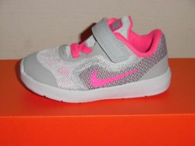 premium selection d0b20 f87f4 New Nike Revolution 3 (TDV) girls toddler Size 9c athletic shoes 819418 007