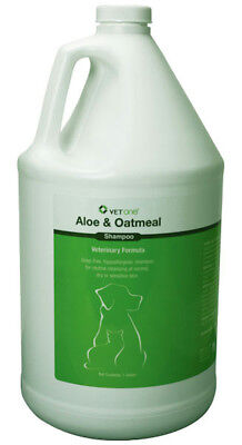 VetOne Aloe & Oatmeal Shampoo Relief from Itchy Scaling & Sensitive Skin Gallon.