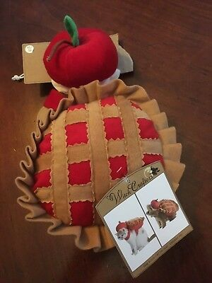 NWT 2 Piece XS Dog Cat Cherry Pie Halloween Costume w/ Hat Witch Crafters
