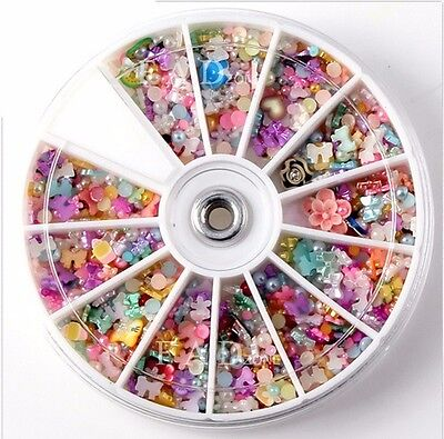 Cabochon Decoden Scrapbooking Flatback Embellishments Resin Bow Beads Diy Gift