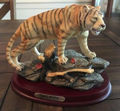 Tiger Statue by Classic Wildlife Collection