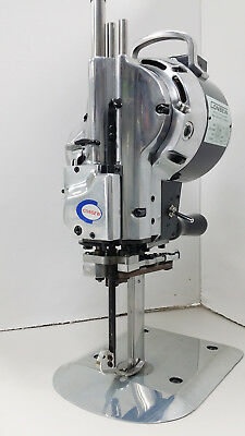 """Consew 918-10 Straight Knife Cloth and Fabric Cutting Machine 10"""" Blade 110 Volt"""