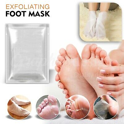 5 Pair x Exfoliating Peel Foot Mask Sock Baby Soft Feet Removes Dead Skin callus