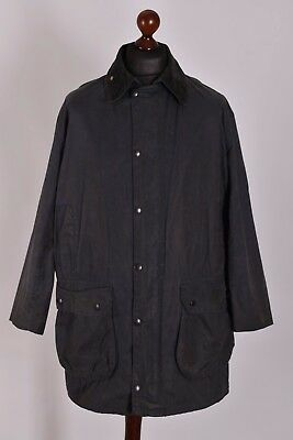 Men's Barbour Border Jacket Size C40 / 102cm Genuine Casual Waxed