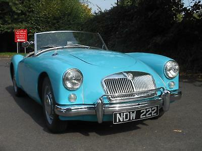 1956 MGA 1500 Roadster, Glacier Blue with Grey Leather