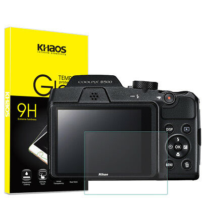Khaos For Nikon B500   Tempered Glass Screen Protector