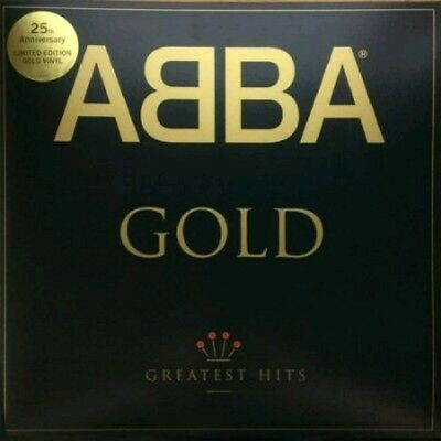 Abba Gold Greatest Hits 25Th Anniversary Limited Edition Gold Vinyl 2017 Sealed