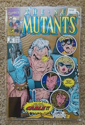 1990 Marvel Comic Book - The New Mutants #87 - FIRST APPEARANCE CABLE - NM/M OLD
