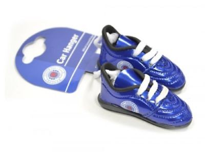 Rangers FC Football Club Hanging Car Window Mini Blue Boots Official Licensed