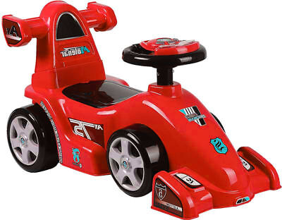 Baby Walker Ride On Toy Car Push Along Ferrari Push Outdoor Learning Classic