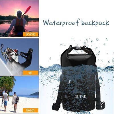Rucksack Waterproof Dry Bag 30L Surfing Storage Canoe Pack Camping Kayaking