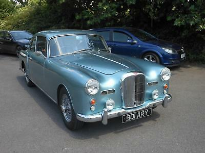 1961 Alvis TD21 Series 1 Park Ward, Alice Blue with Blue Leather