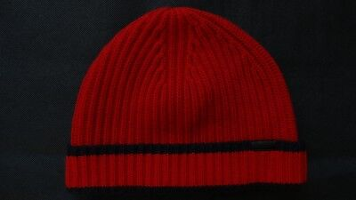 516f8b1c879 BURBERRY RIBBED 100% Cashmere Beanie Hat One Size -  109.52