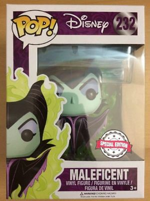 Maleficent Special Edition Green Flame Funko Pop! La Bella Addormentata