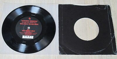 "7"" NOT FOR SALE"" Single NICK CAVE & BAD SEEDS ""Mercy Seat /City Refuge /Deanna"""