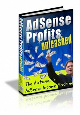 AdSense Profits Unleashed pdf ebook Free Shipping With master Resell Rights