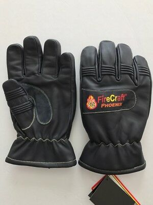 Fire Fighting Gloves NFPA 1971: 2013 Certified, CADET SIZE:  M, L, XL, XL, XXL
