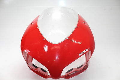 2009 to 2011 Ducati 1198 Front Upper Center Nose Cowl Fairing