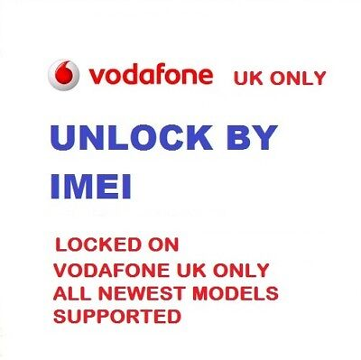 BLACKBERRY Passport Classic Leap VODAFONE UK NETWORK SUPPORTED UNLOCK CODE