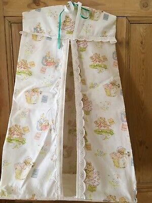 Vintage Beatrix Potter Characters Cotton Hanging Nappy Stacker