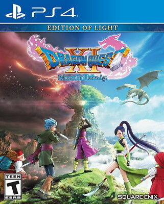 Dragon Quest XI: Echoes of an Elusive Age PS4 [Factory Refurbished]
